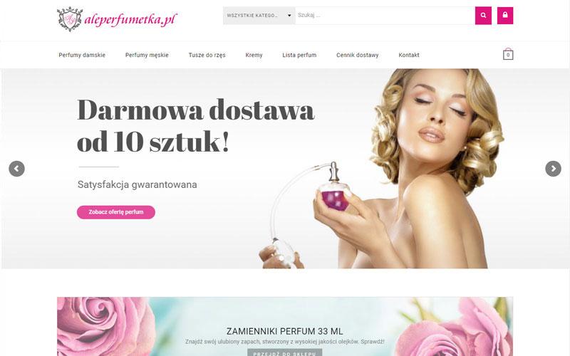 sklep internetowy ale prefumetka Gorzów Wielkopolski