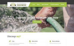 realizacja strony internetowej Ogrodowe Widzimisie Gorzów Wielkopolski