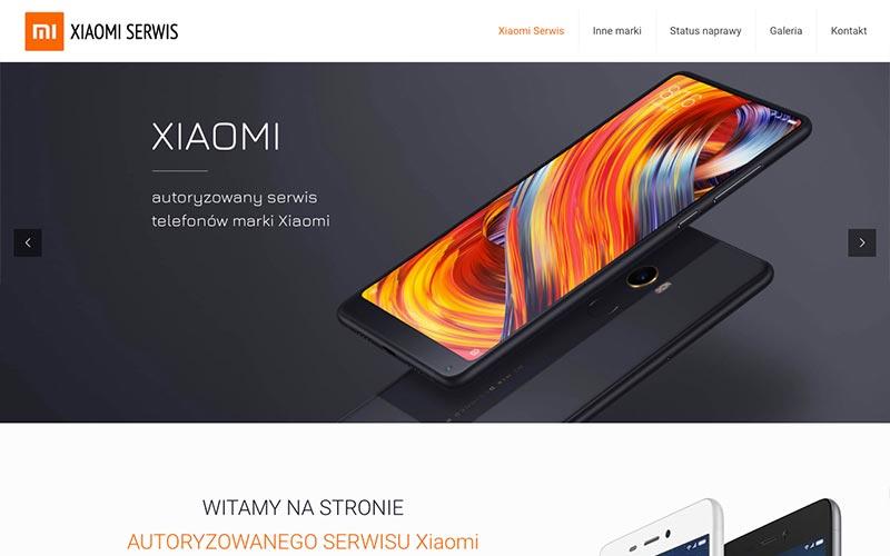 strona internetowa xiaomi serwis